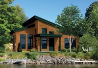 moonlight bay modern cabin plan 126d 0988 house plans and more Modern Cabin Plans