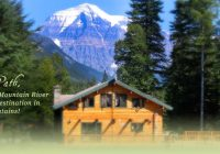 mount robson inn cabins at mountain river lodge mount Mountain River Cabins