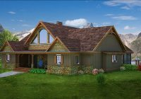 mountain house with open floor plan max fulbright designs Adirondack Cabin Plans