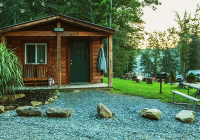 mountain lake camping cabins family camping in West Virginia Camping Cabins