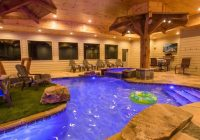 mountain lodge with an indoor pool 6 bedrooms 7 12 baths Cabins In Gatlinburg With Indoor Pools