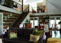 my houzz a rustic log cabin charms in the mountains of alabama Log Cabin Furniture At Houzz
