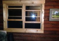 need help with window trim colors on log home Log Cabin Exterior Window Trim