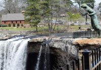 noccalula falls park promises family fun and adventure this Noccalula Falls Cabins