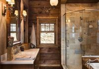 north carolina log homes log home builder packages for Log Cabin Bathroom Ideas