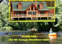 north georgia cabin for rent brow view cabin vacation Riverfront Cabins