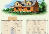 northridge i log home and log cabin floor plan i would Small Two Story Cabin Plans
