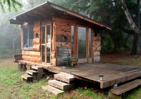 off grid tiny house deep in the carolina woods built for Little House Lay Out For Electricity