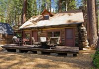 on the market 10 tiny vacation homes Log Cabin Upstate New York