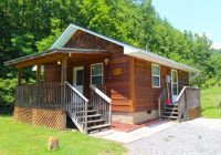 one bedroom cabins in bryson city of smoky mountains One Bedroom Cabins