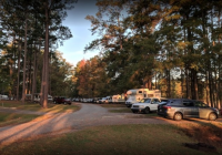 one of americas largest campgrounds is in alabama at wind Wind Creek State Park Cabins