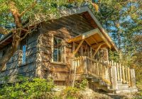 orcas island cabin made from hand milled local lumber San Juan Islands Cabins