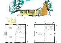 outstanding lake cabin plans loft architectures apartments Small Cabin With Loft Floor Plans