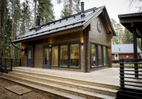 passive house lintukoto honka log homes log modern Finnish Log Homes