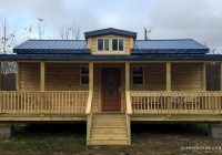 pet friendly camping cabin with a spacious porch near sugar mountain north carolina Pet Friendly Camping Cabins