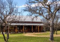 pet friendly glamping cabin rental for groups on lake buchanan in texas hill country Lake Buchanan Cabins