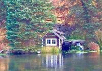 photo2 picture of johnny sack cabin island park Johnny Sack Cabin