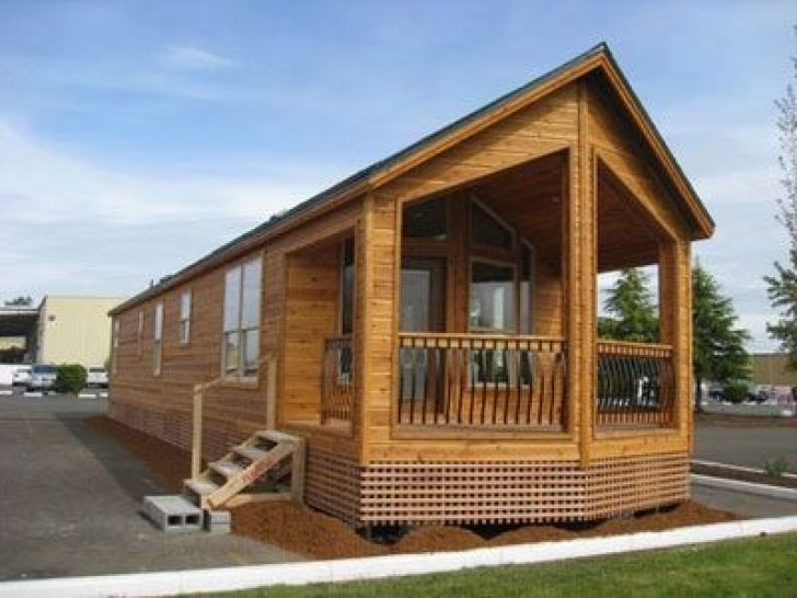 Permalink to Log Cabin Style Mobile Homes Ideas