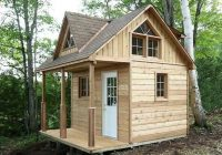 pin heather dees on camping in 2020 cabin loft tiny Cabin Kits Loft