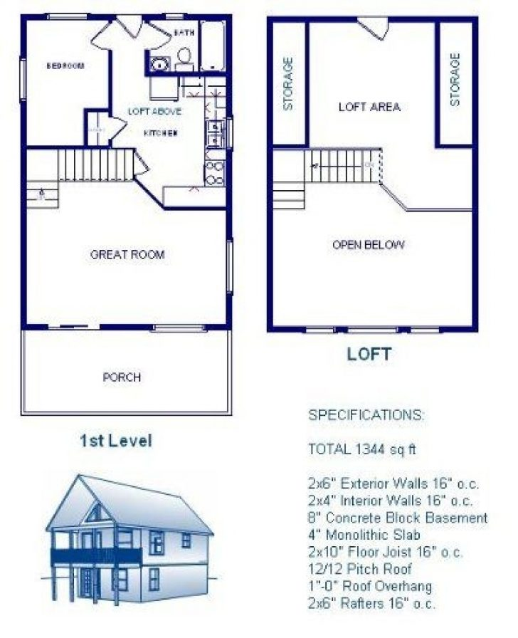 Permalink to 10 24×24 Cabin Floor Plans With Loft Gallery