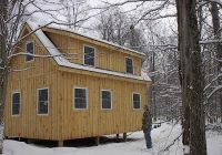 pin on cottages studiosguest houses Adirondack Cabin Plans