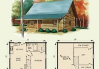 pin on new house ideas Small Log Cabin Floor Plans With Loft