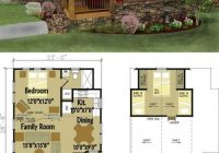 pin on tiny house love Small Cabin With Loft Floor Plans