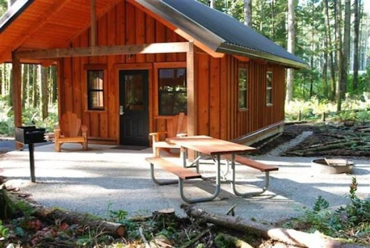 Permalink to 11 Washington State Parks Cabins Gallery