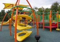pittsburgh playgrounds settlers cabin park playground Settlers Cabin Park