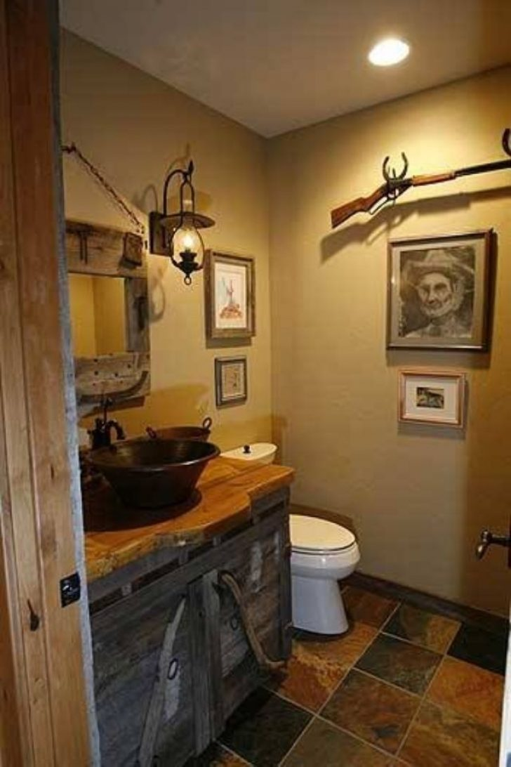 Permalink to Perfect Cabin Bathroom Decor Ideas