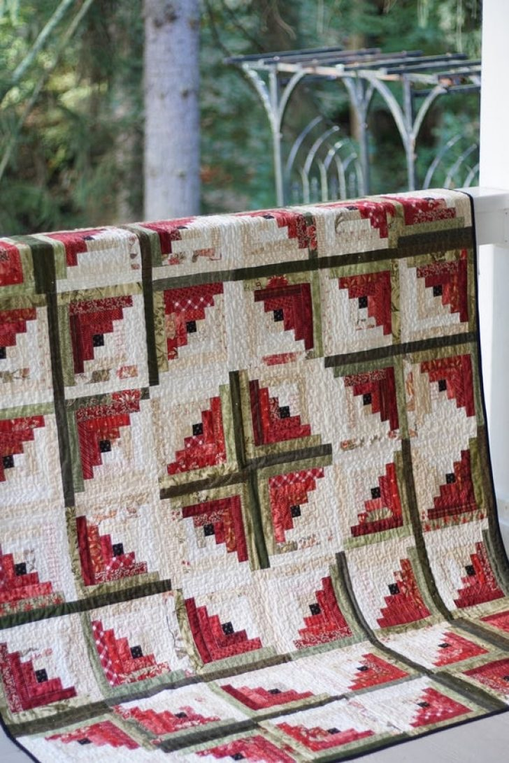 Permalink to Minimalist Log Cabin Quilt Pattern   Gallery