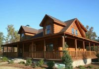 ranch style home with a wrap around porch dream home Log Cabin Plans With Wrap Around Porch