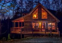 red apple cabin atop the blue ridge mountains of ga spa Blue Ridge Mountain Cabins