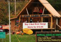 red river gorge natural bridge cabin rental 5 star cabin Cabins Near Red River Gorge