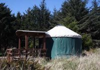 rent a yurt or cabin at cape disappointment state park Washington State Parks Cabins