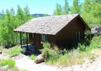 rental cabins at fish lake utah rustic 5 person camping Fish Lake Utah Cabins