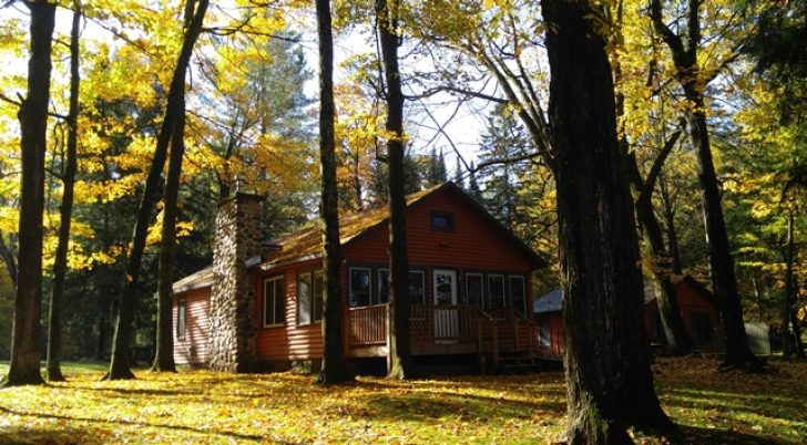 Permalink to Perfect Portage Lake Cabins