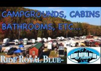 ride royal blue campgrounds bathrooms cabins walkaroundpart 3 Ride Royal Blue Cabins