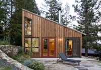 russian river studio contemporary exterior san Russian River Cabin