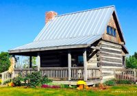 rustic log cabin on idyllic ranch near indianapolis indiana Cabins In Indianapolis