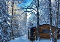 rustic log cabins in new hampshires white mountains Log Cabin Rentals New England