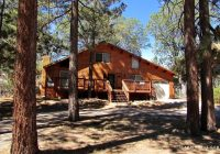rustic seven person cabin with a hot tub in big bear lake california Big Bear California Cabins