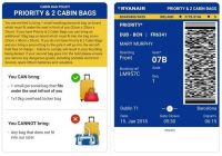 ryanair has revealed the fine youll pay if you flout the Ryanair Cabin Baggage