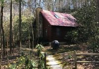 secluded log cabin on creek near helen anna ru falls and unicoi no fees sautee nacoochee Ruby Falls Cabins