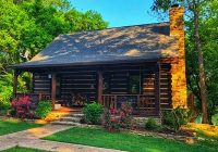 secluded luxury retreat on the banks of the white river mountain view White River Cabins