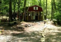 secluded rustic cabins nestled in a lush forest in west virginia Cabin Camping In Virginia