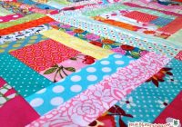 sew a log cabin quilt block made marzipan Log Cabin Quilter