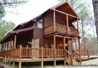 silver spur 1 of 7 luxury cabins at beavers bend resort Oklahoma Vacation Cabins