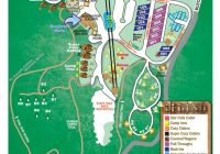 site map falls creek cabins and campground Falls Creek Cabins