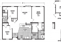 sky valley 32 x 46 1395 sqft mobile home factory expo home 32 X 32 House Plans